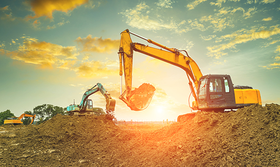 Construction Equipment Loan at lowest Interest rate